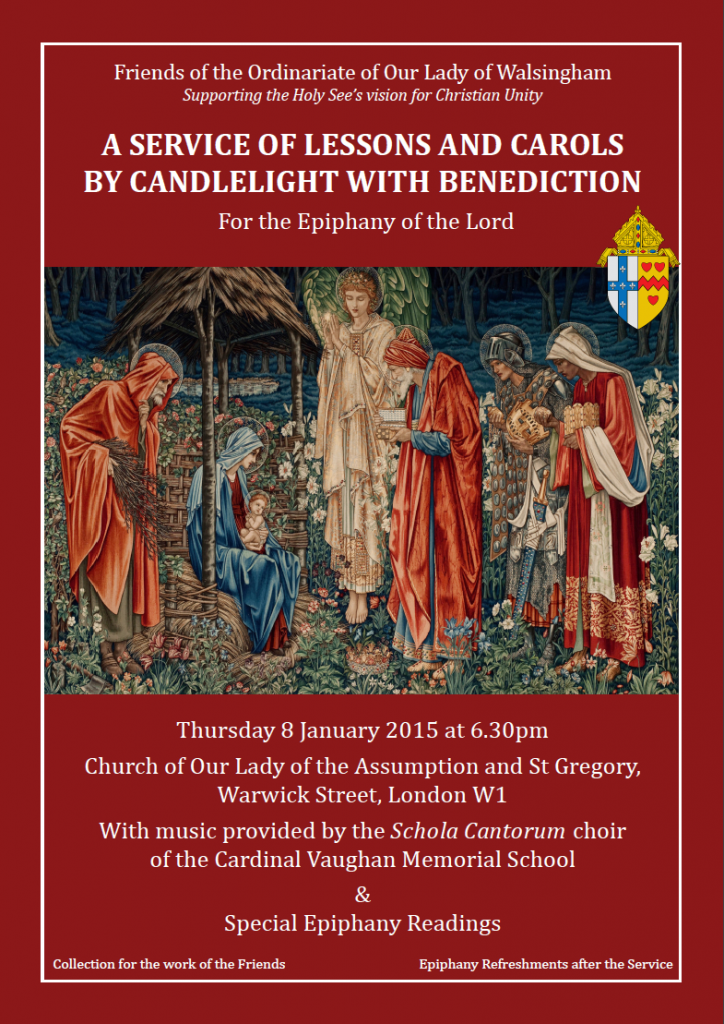 Friends' Epiphany Service of Lessons and Carols @ Church of Our Lady of the Assumption and St Gregory | London | United Kingdom